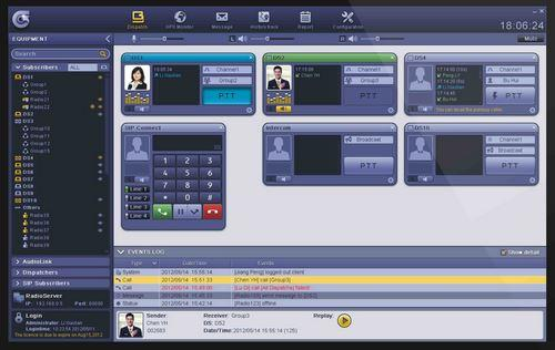 Dispečerský software
