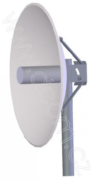 ZZ5G6P27 Parabolická Wifi anténa 5,6GHz 27dBi / 60cm