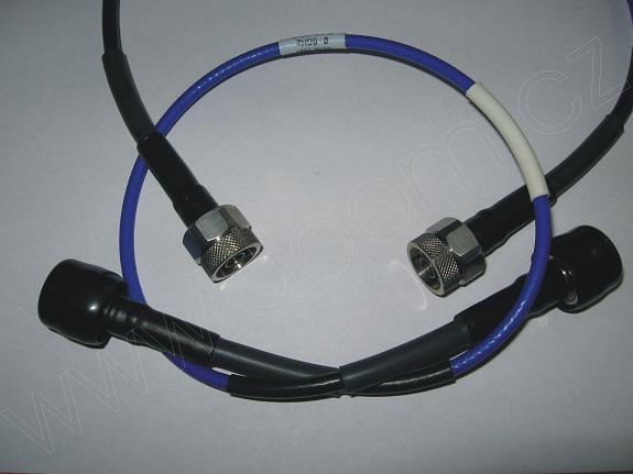 VF měřící kabel konektory N(m)-N(m)