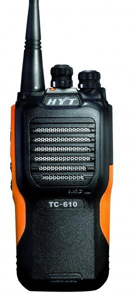 Profesionální vysílačky Hyt TC-610 odolná a spolehlivá
