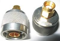 VF přechodka konektory RSMA(m)-N(m)