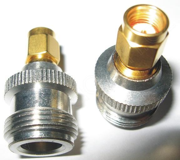VF přechodka konektory RSMA(m)-N(f)