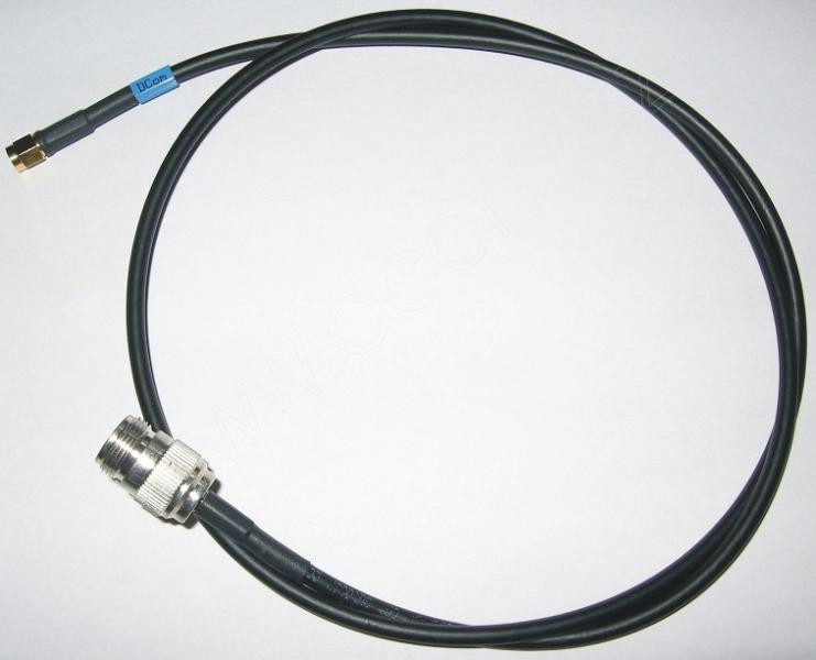DS00318-00-100  Pigtail konektory N(f) – RSMA délka 1m