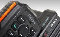 Detail tlačítkového mikrofonu Hytera SM19A1