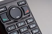 Detailní pohled na klávesnici digitální radiostanice Hytera PD785G MD
