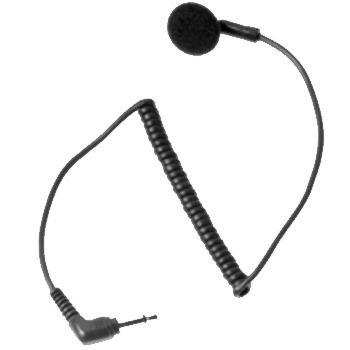 MDRLN4885B sluchátko do ucha (pecka)   pro vysilacky Motorola řady CP,GP a P100