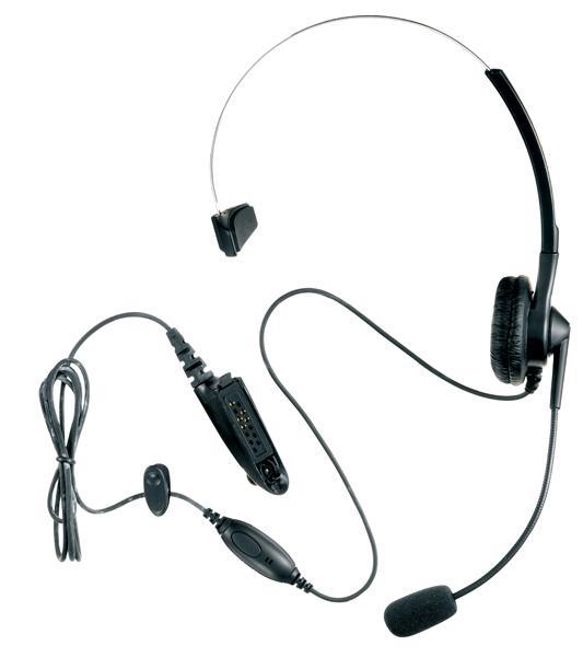 MDPMLN4558A lehká náhlavní souprava VOX/PTT MDPMLN4558A pro radiostanice Motorola řady GP