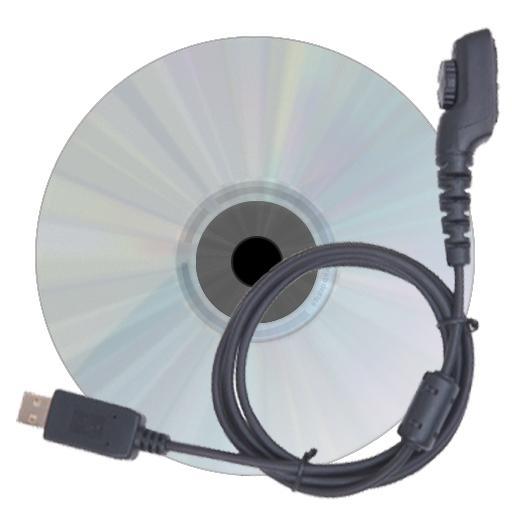 Programovací souprava BC0008 (kabel PC45 + SW) pro radiostanice Hytera X1e, X1p a vysílačky řady PD6