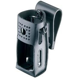 RLN5497 kožené pouzdro z tvrdé kůže s otočným závěsem pro vysílačky Motorola CP180