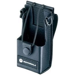 RLN5383 kožené pouzdro s opaskovým okem pro vysílačky Motorola řady CP
