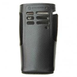 HLN9676 kožené pouzdro z tvrdé kůže pro radiostanice Motorola GP340