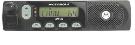 Vozidlová vysílačka Motorola CM160