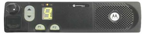 Vozidlová vysílačka Motorola CM340
