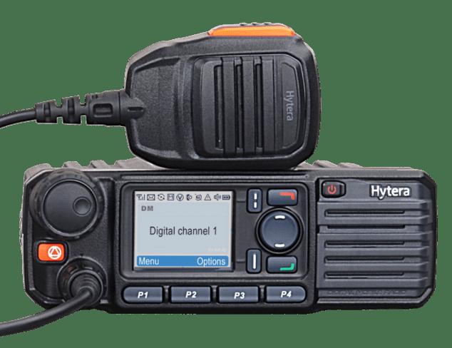 Analogová radiostanice Hytera M785iG AN podporuje pětitónové selektivní volby a je vybavena GPS