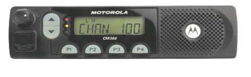 Vozidlová vysílačka Motorola CM360