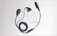 Skrytá dvoudílná hovorová souprava (černá) s transparentnímzvukovodem