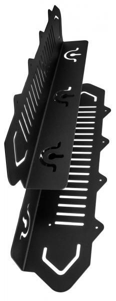 Montážní konzola na stěnu BRK20 pro 6ti násobné nabíječe Hytera MCA08, MCA10
