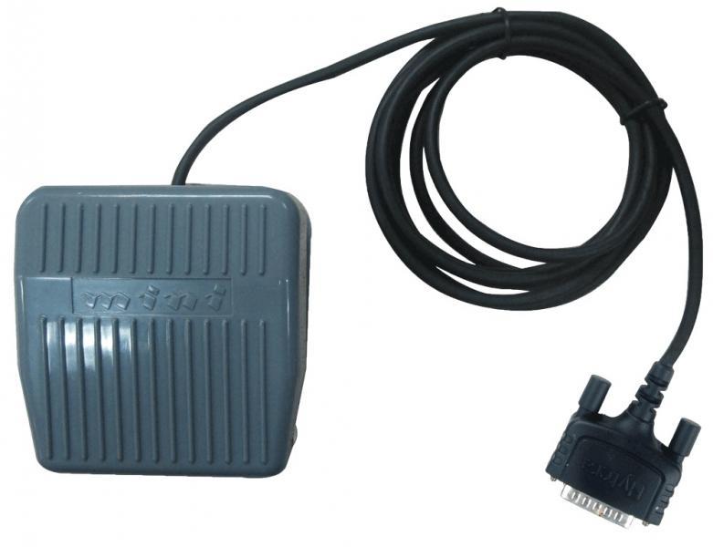 Nožní spínač POA44 (externí PTT) pro snadné ovládání základnové radiostanice, které zajistí volné ruce obsluhy.