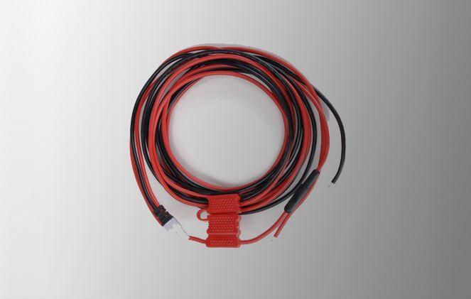 Napájecí PWC12 DC kabel 5m pro vozidlové digitální radiostanice Hytera MD785 a MD655