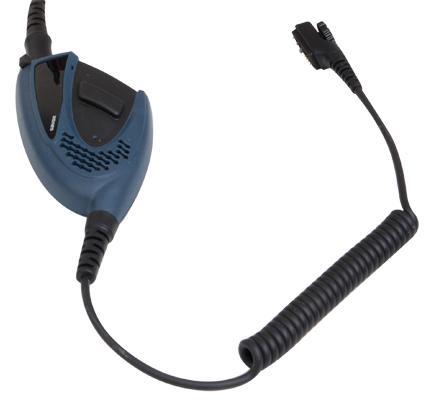 Multifunkční ruční repro/mikrofon SM24N1-Ex s dvěma PTT tlačítky,a ceriikací do výbušného prostředí ATEX pro digitální radiostanice Hytera PD715Ex a PD795Ex