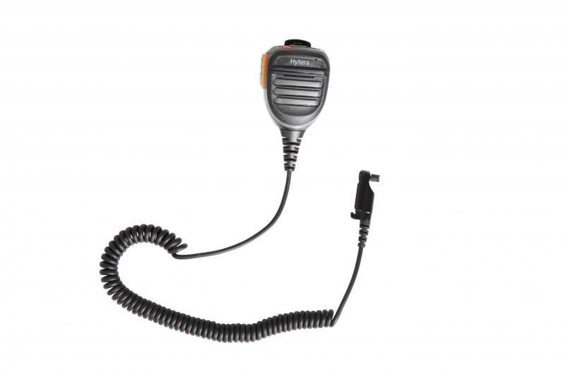 Ruční repro/mikrofon SM26N1 (IP67) s nouzovým tlačítkem pro digitální radiostanice Hytera řady PD6xx a X1x