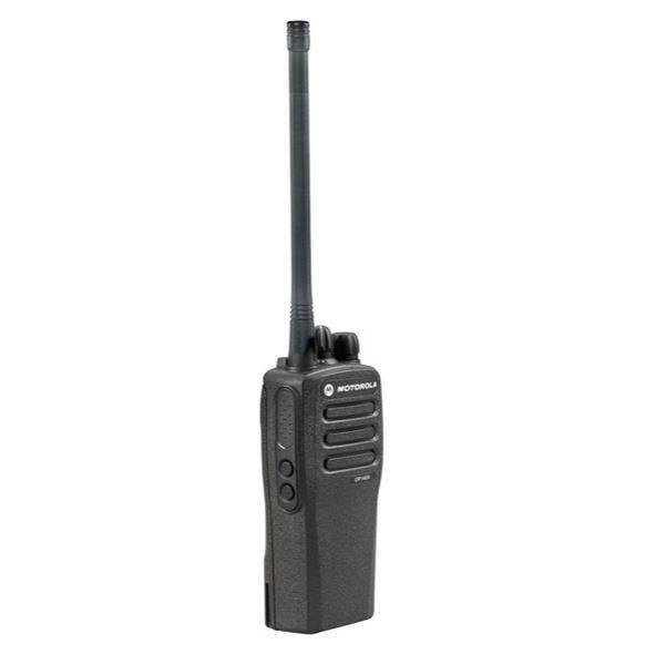 Digitální vysílačky Motorola DP1400 pohled ze strany