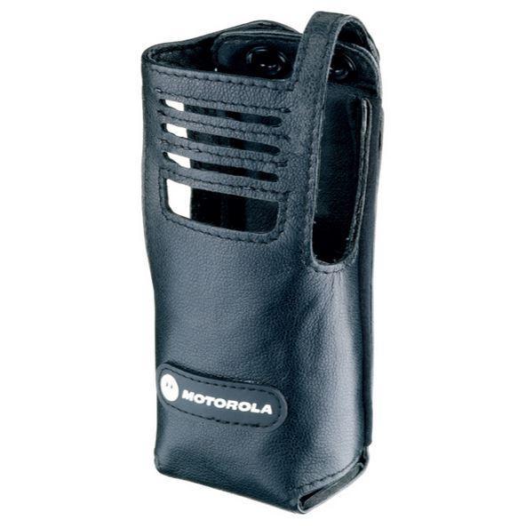 PMLN5027 pouzdro z jemné kůže pro digitální radiostanice Motorola