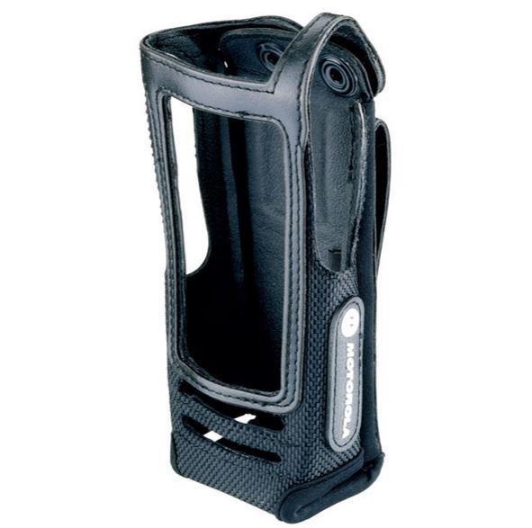 PMLN5015 pouzdro z jemné kůže pro radiostanice Motorola