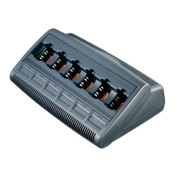WPLN4213 Stolní 6 pozicový inteligentní nabíječ IMPRES pro radiostanice Mototrbo