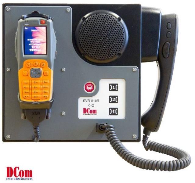 SVR-810R GSM-R přenosné zařízení pro hlasovou komunikaci