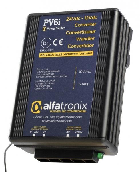 Měnič napětí Alfatronix PV6i DC 24/12V