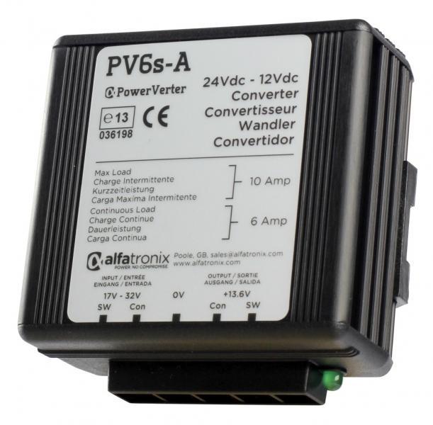 Měnič napětí Alfatronix PV6s-A DC 24/12V