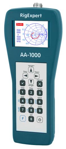 RigExpert AA-1000 anténní analyzátor do 1000 MHz