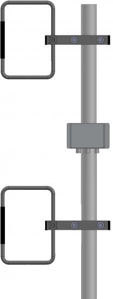 Základnová anténa UHF 2xZZ401L
