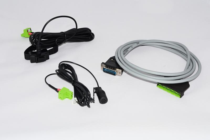 DS00296-00 Handsfree sada pro digitální vozidlové radiostanice