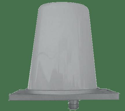 Lokomotivní UHF anténa frekvenční rozsah 410 - 470 MHz schválená k provozu pod trakčním vedením