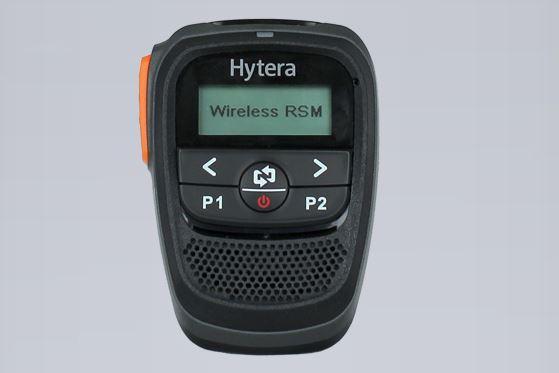 Bezdrátový Bluetooth mikrofon s reproduktorem SM27W1  pro vozidlové radiostanice Hytera MD785i