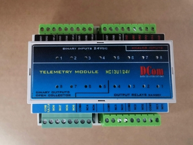 I/O jednotka (8vst, 8výstup, 4Analog vst.)