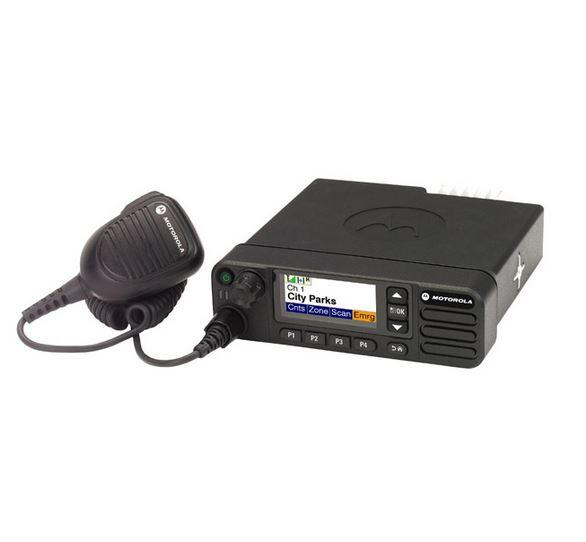 Digitální radiostanice do vozidla Motorola DM4600e MotoTRBO