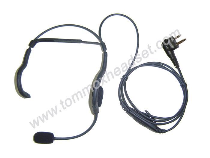 EHM-124H3 náhlavní komunikační souprava pro vysílačky s funkcí VOX