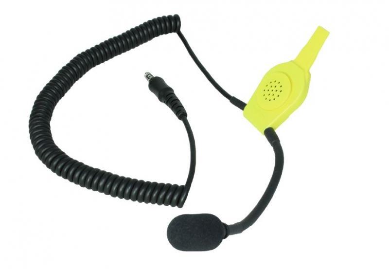 HUC1 komunikační souprava do helmy pro hasiče TITAN HUC1 konektor NEXUS pro připojení radiostanice
