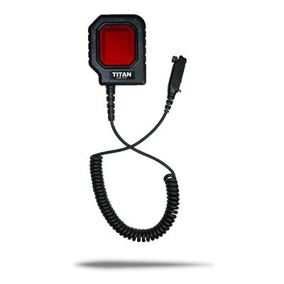 PTT20 velké tlačítko k propojení komunikační soupravy a radiostanice konektor NEXUS