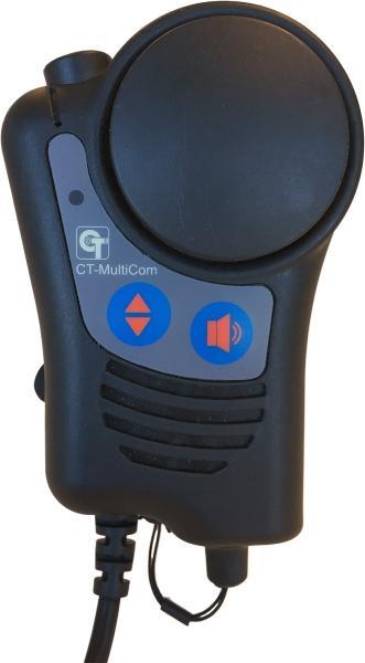 CT-Multicom 65 více než mikrofon pro radiostanice Hytera řady PD6 a X1