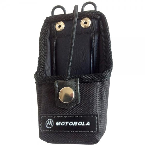HLN9701B nylonové pouzdro s opaskovým okem pro vysílačky Motorola DP1400