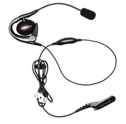 PMLN5976A ultra lehká náhlavní souprava pro radiostanice Motorola DP4000 s VOX/PTT