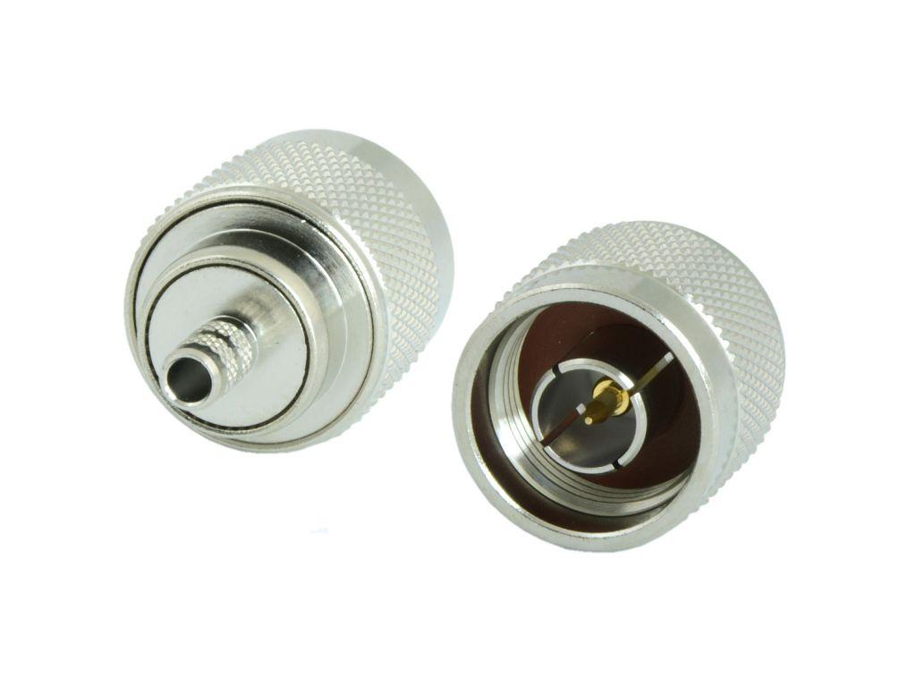 Konektor N male precizní pro LMR195, Spuma195, RG58