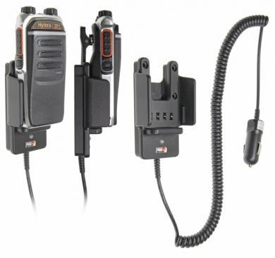Držák Brodit do vozidla pro digitální radiostanice Hytera řady PD6 různé pohedy