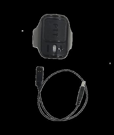 Bezdrátové Bluetooth PTT tlačítko prstýnek POA121 pro digitální radiostanice Hytera