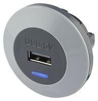 Elegantní tenká USB zásuvka do auto či autobusu Alfatronix PVPro-SFf